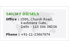 Sanjay Diesels Manufacturers and Exporters Greaves Genset of Diesel EginesSet in India